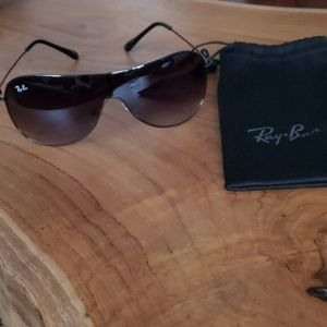 Ray Ban  black metal  sunglasses